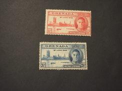 GRENADA - 1946 VITTORIA  2 VALORI - NUOVO(++) - Grenada (...-1974)