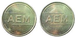 03199 GETTONE TOKEN JETON FICHA DENMARK AEM ENGINEERING - Unclassified