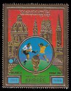 Soccer Football Khmere #431 1974 World Cup Germany MNH ** - 1974 – Allemagne Fédérale