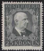 Osterreich   .    Yvert   .    294       .      *      .          Ungebraucht     .   /    .   Mint-hinged - 1918-1945 1ste Republiek