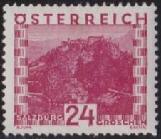 Osterreich   .    Yvert   .    383     .      *      .          Ungebraucht     .   /    .   Mint-hinged - 1918-1945 1ste Republiek