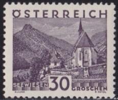 Osterreich   .    Yvert   .    384      .      *      .          Ungebraucht     .   /    .   Mint-hinged - 1918-1945 1ste Republiek