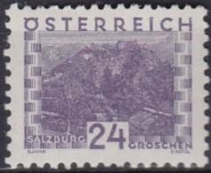 Osterreich   .    Yvert   .    410     .      *      .          Ungebraucht     .   /    .   Mint-hinged - 1918-1945 1ste Republiek