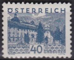 Osterreich   .    Yvert   .    413       .      *      .          Ungebraucht     .   /    .   Mint-hinged - 1918-1945 1ste Republiek