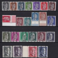 Osterreich   .    Yvert   .    553/575      .      **      .          Postfrisch     .   /    .   MNH - 1918-1945 1. Republik