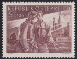 Osterreich   .    Yvert   .     852     .      **      .          Postfrisch     .   /    .   MNH - 1945-60 Ongebruikt
