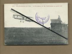 CPA - Les Pionniers De L'Air - L'Aéroplane De M.Paulhan En Plein Vol (cachet Port Aviation Juvisy - Seine Et Oise ) Auto - Airmen, Fliers
