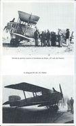 Lot N: 18 Photos  Sur 4  Fiches  Des Pionniers De  L'Aéropostale - Other