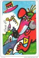 Germany - P 06/94 - Zodiac - Otmar Alt - Chinesische Tierkreiszeichen  - Year Of Rat - Jahr Der Ratte - Sternzeichen - Zodiaco