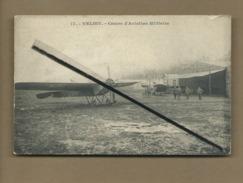 CPA Abîmée   - Velizy - Centre D'Aviation Militaire  -  (Avion ) - Velizy