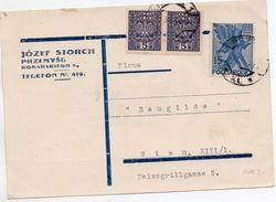 POLOGNE 1930 - Briefe U. Dokumente