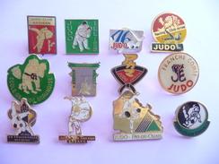 14 Pin's De Clubs De JUDO Différents Au Choix 1€/pièce - Judo