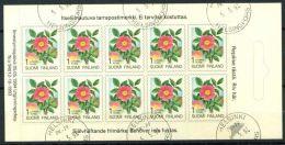 Finlandia 1994 Mi. 1250 Libretto 100% Stati Uniti Fiori - Finland