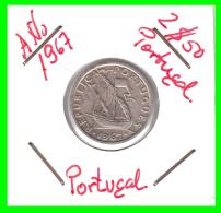 PORTUGAL/MONEDA RÉPUBLICA > 2.5 ESCUDOS AÑO 1965 - Portugal