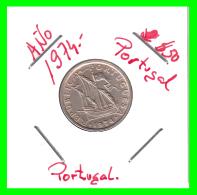PORTUGAL/MONEDA RÉPUBLICA > 2.5 ESCUDOS AÑO 1974 - Portugal