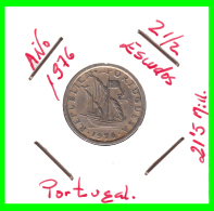 PORTUGAL/MONEDA RÉPUBLICA > 2.5 ESCUDOS AÑO 1976 - Portugal