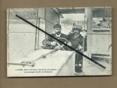 CPA -   A. Gand , Henri Farman  -   ( Aviation , Avion , Aviateurs ) - Airmen, Fliers