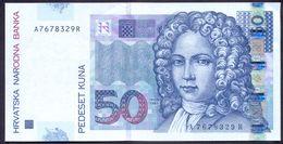 Croatia 50 Kuna 2002 UNC P-40 - Croazia