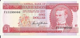 BARBADES  1 DOLLAR ND1973 UNC P 29 - Barbades