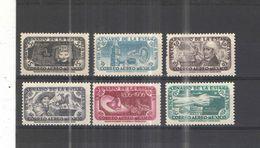 Messico PA 1956 Cent.Poste Messico   Scott.C229/234 Usati/Nuovi See Scans - Mexico