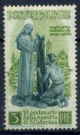 Italia Repubblica 1948 Sass. 574 Nuovo ** 100% S.Caterina - 6. 1946-.. Republic