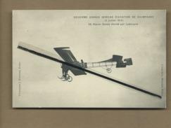 CPA-Deuxième Grande Semaine D'Aviation De Champagne - Biplan Goupy Monté Par Ladougne   -(Aviation,Avion,Aviateurs) - Airmen, Fliers