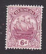 Bermuda, Scott #47, Mint Hinged, Caravel, Issued 1910 - Bermudes