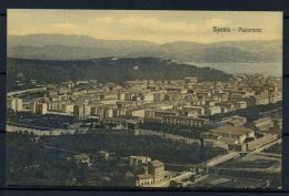 Italia Regno 1916 Sass. Z175 Cartolina 100% Spezia - Panorama - Viaggiata - 1900-44 Vittorio Emanuele III