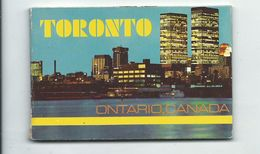 Toronto - Ontario - Petit Carnet Complet De 8 Cartes Airport - Train Aero Dynamyc - Format 10 Cm Sur 6.5 - Toronto