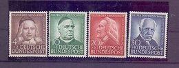 Bund 1953 - Wohlfahrt - Mi.Nr. 173/176 Postfrisch** - Michel 90,00 € (409) - Used Stamps