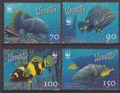 VANUATU - 2006 - Poissons Du Vanuatu Wwf - 4 Val Neufs // Mnh - Vanuatu (1980-...)