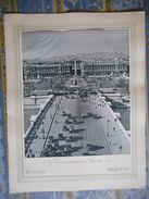 MENU PAQUEBOT NORMANDIE 26 MAI 1939 PARIS PLACE DE LA CONCORDE Compagnie Transatlantique FRENCH LINE - Menus