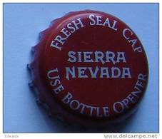 Sierra Nevada USA Red Beer Bottle Top Crown Cap Kronkorken Capsule Tappi Chapa - Beer