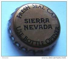 Sierra Nevada USA Copper Beer Bottle Top Crown Cap Kronkorken Capsule Tappi Chapa - Bière
