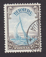 Bermuda, Scott #109, Used, Yacht Lucie, Issued 1936 - Bermudas
