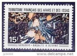 AFARS ET ISSAS Mineraux Yvert  369 MNH, Neuf Sans Charniere - Minéraux