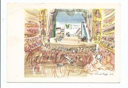 CPSM 826 - L' Opéra De Monte - Carlo 1941 - Raoul Dufy -  Hazan éditeur Non Voyagée - Pittura & Quadri