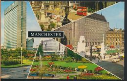 °°° 8911 - UK - MANCHESTER - VIEWS - 1980 With Stamps °°° - Manchester