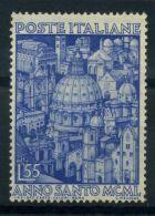 Italia Repubblica 1950 Sass. 621 Nuovo ** 60% Anno Santo - 6. 1946-.. Republic