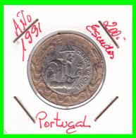 PORTUGAL/MONEDA RÉPUBLICA > 200 ESCUDOS AÑO 1991 - Portugal