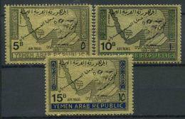 Yemen 1968 Mi. 734-736 Nuovo ** 100% K. Adenauer - Yemen