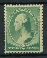 USA 1887 Mi. 54 Senza Gomma 100% Washington 2 C. Presidenti - 1847-99 General Issues