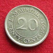 Mauritius 20 Cents 1993 KM# 53 Mauricia Maurice - Mauritius
