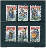 France   Timbres De 1995    N°2976 A 2981  Oblitérés - Used Stamps
