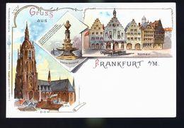 FRANKFURT GRUSS  1899 - Allemagne