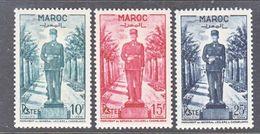 FRENCH  MOROCCO  264-6  *  GEN.  LECLERC - Morocco (1891-1956)