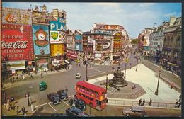 °°° 8952 - UK - LONDON - PICCADILLY CIRCUS - 1971 With Stamps °°° - Piccadilly Circus