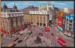 °°° 8954 - UK - LONDON - PICCADILLY CIRCUS - 1967 With Stamps °°° - Piccadilly Circus