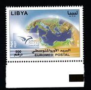 LIBYA LIBIA 2014 Sc.1792 EUROMED Issue Set MNH** - Libia