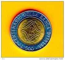 1993   BANCA D'ITALIA LIRE 500  DA ROTOLINO REPUBBLICA ITALIANA  FDC     ARC BUSTA - 500 Lire
